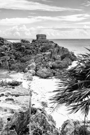 ¡Viva Mexico! B&W Collection - Tulum Riviera Maya IV by Philippe Hugonnard