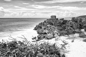 ?Viva Mexico! B&W Collection - Tulum Riviera Maya V by Philippe Hugonnard