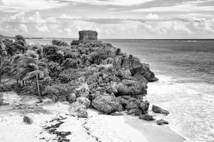 ¡Viva Mexico! B&W Collection - Tulum Riviera Maya VI by Philippe Hugonnard