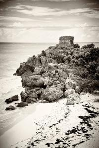 ¡Viva Mexico! B&W Collection - Tulum Riviera Maya VII by Philippe Hugonnard