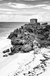 ¡Viva Mexico! B&W Collection - Tulum Riviera Maya VIII by Philippe Hugonnard