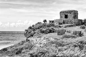 ¡Viva Mexico! B&W Collection - Tulum Riviera Maya by Philippe Hugonnard