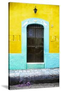 ?Viva Mexico! Collection - 19e Door and Yellow Wall by Philippe Hugonnard