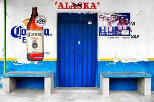 "?Viva Mexico! Collection - ""ALASKA"" Blue Bar by Philippe Hugonnard"