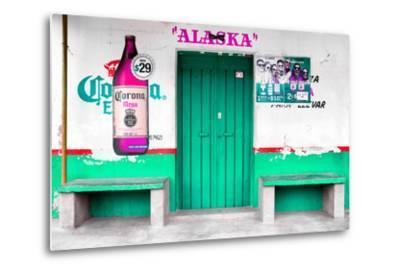"""¡Viva Mexico! Collection - """"ALASKA"""" Coral Green Bar"""