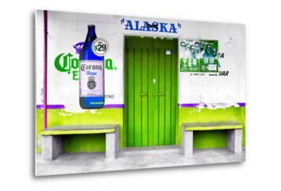 """¡Viva Mexico! Collection - """"ALASKA"""" Lime Green Bar"""