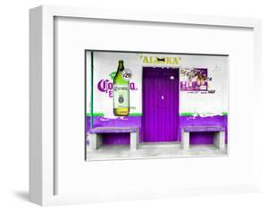 "?Viva Mexico! Collection - ""ALASKA"" Purple Bar by Philippe Hugonnard"