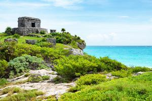 ¡Viva Mexico! Collection - Ancient Mayan Fortress in Riviera Maya - Tulum by Philippe Hugonnard