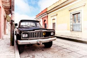 ¡Viva Mexico! Collection - Black Jeep and Colorful Street II by Philippe Hugonnard