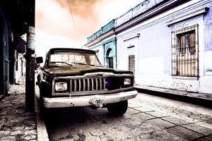 ¡Viva Mexico! Collection - Black Jeep and Colorful Street VI by Philippe Hugonnard