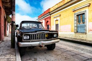 ¡Viva Mexico! Collection - Black Jeep and Colorful Street by Philippe Hugonnard