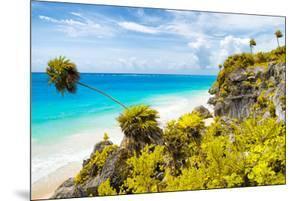 ¡Viva Mexico! Collection - Caribbean Coastline in Tulum II by Philippe Hugonnard