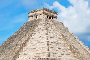 ¡Viva Mexico! Collection - Chichen Itza Pyramid by Philippe Hugonnard