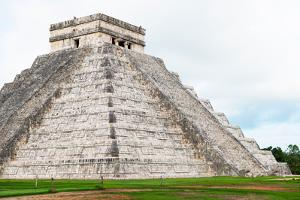 ¡Viva Mexico! Collection - El Castillo Pyramid - Chichen Itza IV by Philippe Hugonnard