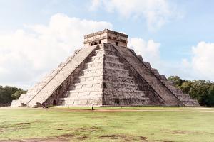 ¡Viva Mexico! Collection - El Castillo Pyramid in Chichen Itza I by Philippe Hugonnard