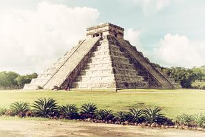 ¡Viva Mexico! Collection - El Castillo Pyramid in Chichen Itza III by Philippe Hugonnard