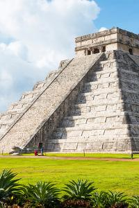 ¡Viva Mexico! Collection - El Castillo Pyramid in Chichen Itza IV by Philippe Hugonnard
