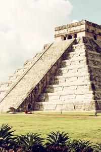 ¡Viva Mexico! Collection - El Castillo Pyramid in Chichen Itza V by Philippe Hugonnard