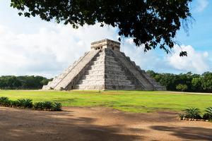 ¡Viva Mexico! Collection - El Castillo Pyramid in Chichen Itza VI by Philippe Hugonnard
