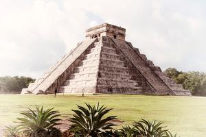 ¡Viva Mexico! Collection - El Castillo Pyramid in Chichen Itza XI by Philippe Hugonnard