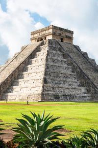 ¡Viva Mexico! Collection - El Castillo Pyramid in Chichen Itza XII by Philippe Hugonnard