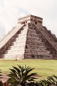 ¡Viva Mexico! Collection - El Castillo Pyramid in Chichen Itza XIII by Philippe Hugonnard
