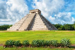 ¡Viva Mexico! Collection - El Castillo Pyramid in Chichen Itza XIV by Philippe Hugonnard