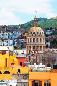 ¡Viva Mexico! Collection - Guanajuato - Church Domes II by Philippe Hugonnard