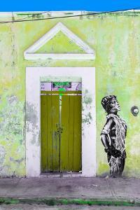 ?Viva Mexico! Collection - Main entrance Door Closed III by Philippe Hugonnard