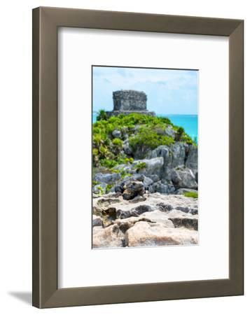 ¡Viva Mexico! Collection - Mayan Archaeological Site with Iguana III - Tulum