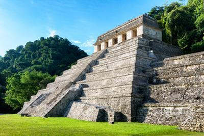 ¡Viva Mexico! Collection - Mayan Temple of Inscriptions - Palenque by Philippe Hugonnard