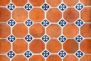¡Viva Mexico! Collection - Mosaics Orange Bricks by Philippe Hugonnard