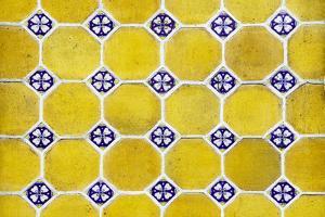 ¡Viva Mexico! Collection - Mosaics Yellow Bricks by Philippe Hugonnard