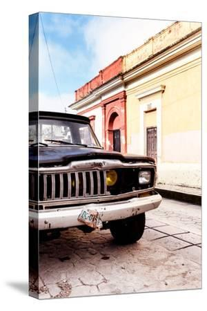 ¡Viva Mexico! Collection - Old Black Jeep and Colorful Street III