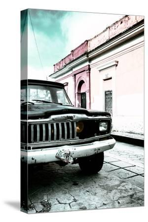 ¡Viva Mexico! Collection - Old Black Jeep and Colorful Street VII