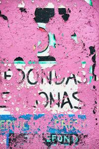 ¡Viva Mexico! Collection - Pink Street Wall Art by Philippe Hugonnard