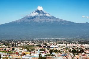 ¡Viva Mexico! Collection - Popocatepetl Volcano in Puebla by Philippe Hugonnard