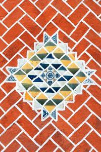 ¡Viva Mexico! Collection - Red Mosaics by Philippe Hugonnard