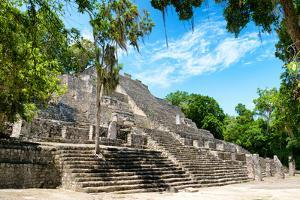 ¡Viva Mexico! Collection - Ruins of the ancient Mayan city of Calakmul III by Philippe Hugonnard