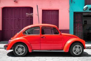 ¡Viva Mexico! Collection - The Red Beetle Car by Philippe Hugonnard