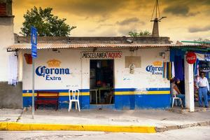 ?Viva Mexico! Collection - Traditional Store at Sunset by Philippe Hugonnard