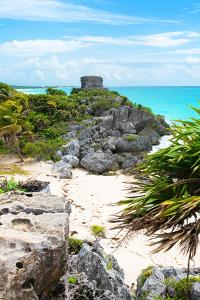 ¡Viva Mexico! Collection - Tulum Ruins along Caribbean Coastline II by Philippe Hugonnard