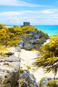 ¡Viva Mexico! Collection - Tulum Ruins along Caribbean Coastline III by Philippe Hugonnard