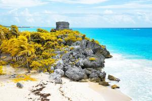 ¡Viva Mexico! Collection - Tulum Ruins along Caribbean Coastline VII by Philippe Hugonnard