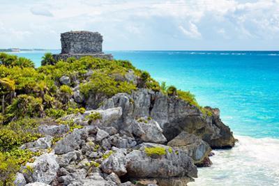 ¡Viva Mexico! Collection - Tulum Ruins along Caribbean Coastline - Yucatan by Philippe Hugonnard