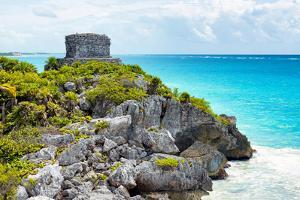 ¡Viva Mexico! Collection - Tulum Ruins along Caribbean Coastline - Yucatan by Philippe Hugonnard