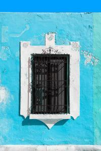 ¡Viva Mexico! Collection - Turquoise Window - Campeche by Philippe Hugonnard