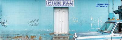 """¡Viva Mexico! Panoramic Collection - """"5 de febrero"""" Blue Wall"""