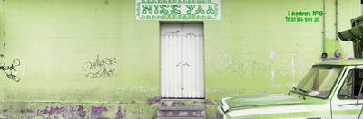 """¡Viva Mexico! Panoramic Collection - """"5 de febrero"""" Lime Green Wall"""