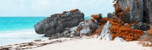 ¡Viva Mexico! Panoramic Collection - Caribbean Coastline in Tulum III by Philippe Hugonnard